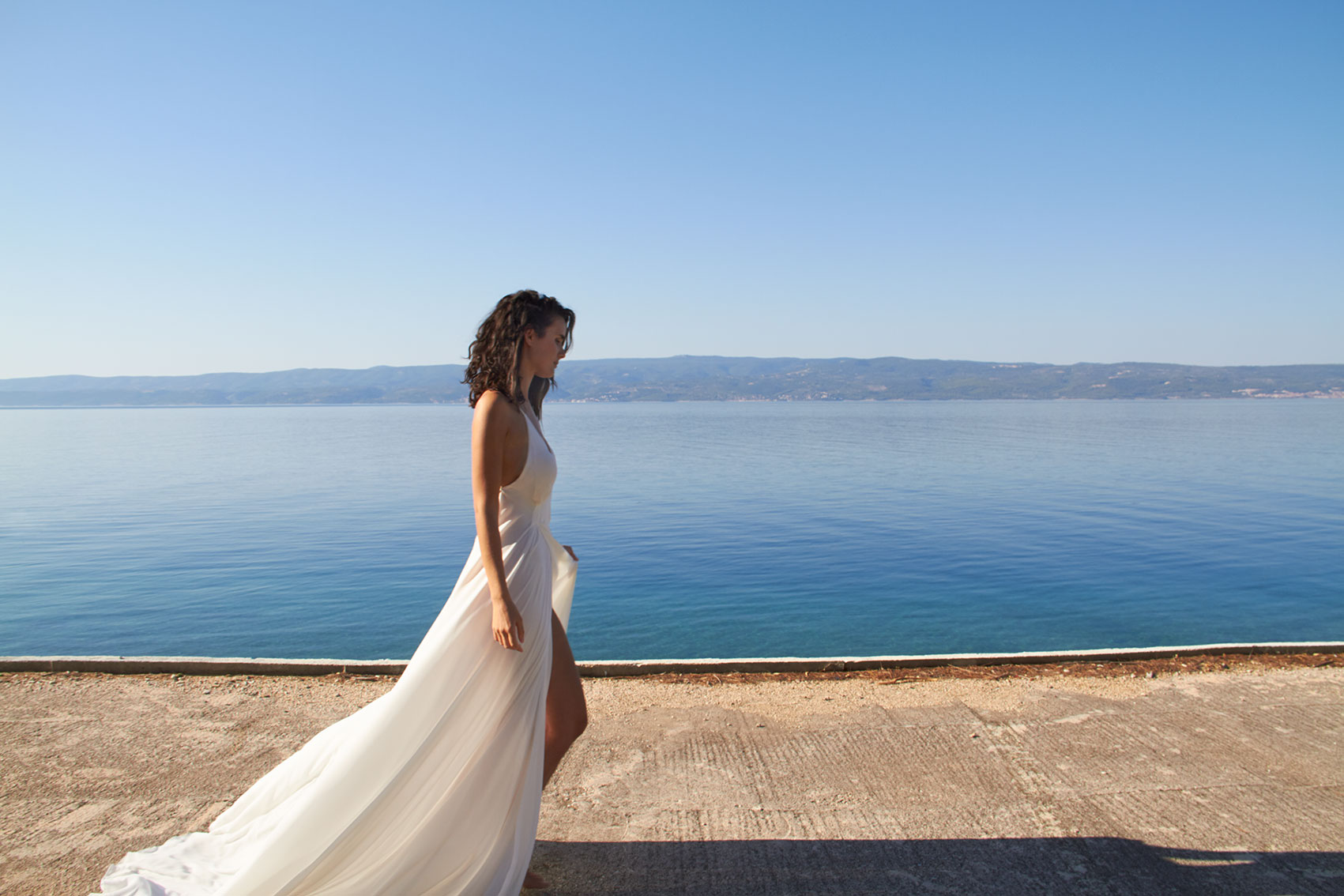 Mira Mandic Wedding Gown