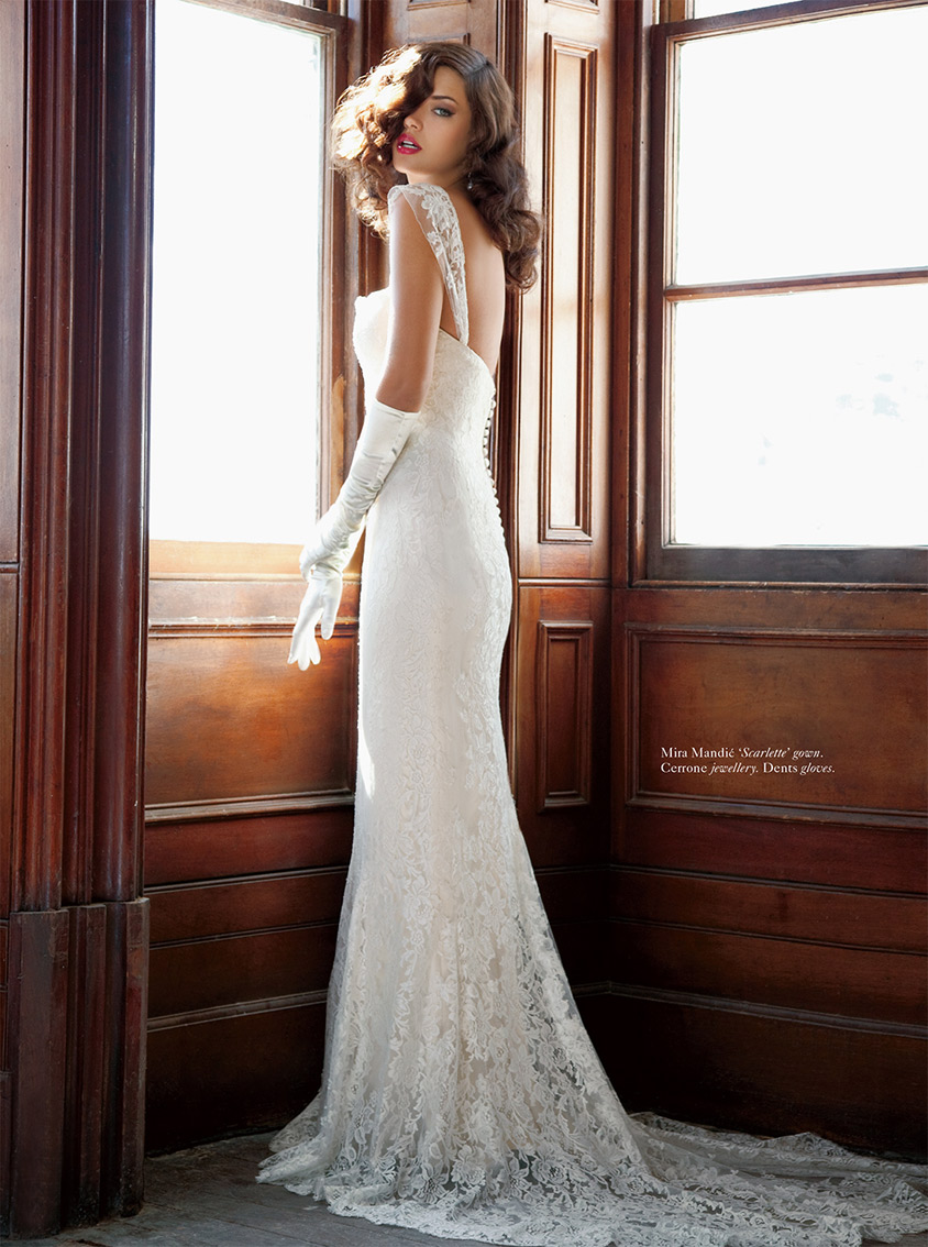 Scarlette Gown in STUDIO BRIDES - Summer 2012