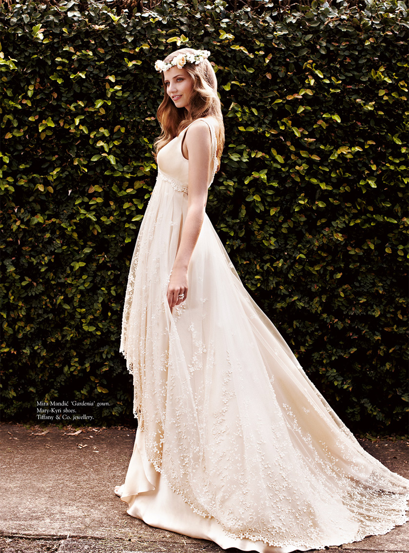 Genevieve Gown in STUDIO BRIDES - Winter 2012