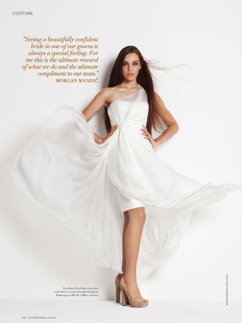Mira Mandic Bridal Dress